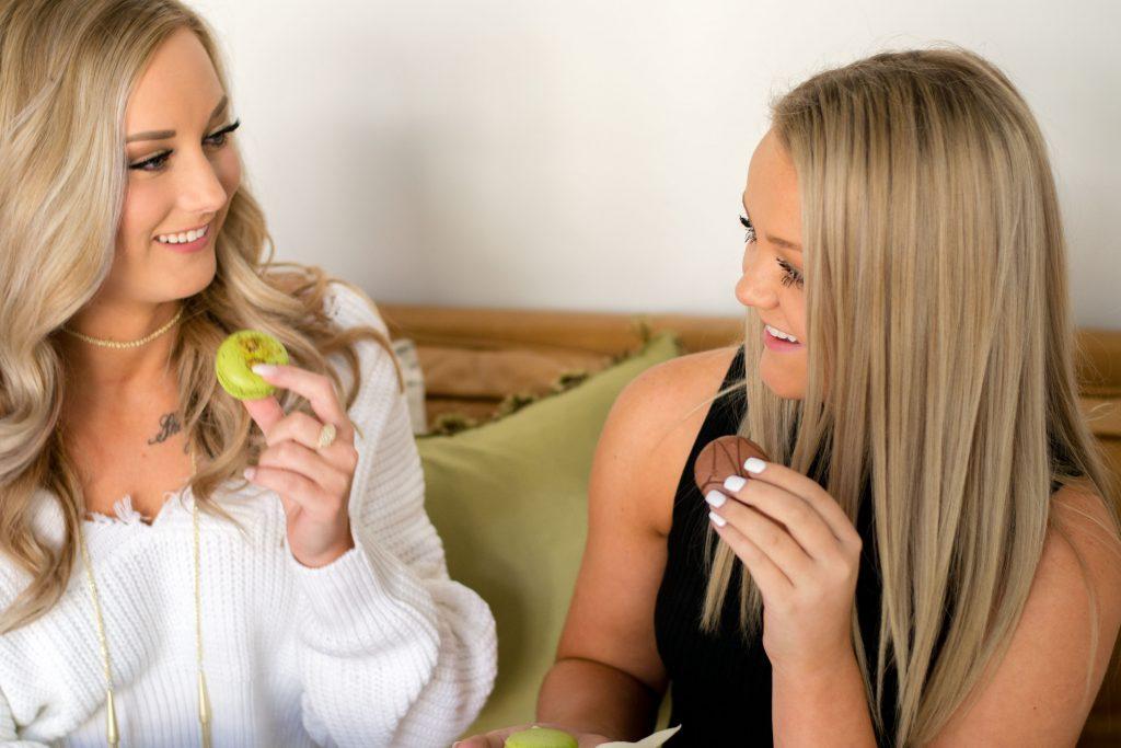 macarons-blonde-tan-beautiful-glow-gorgeous