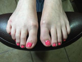 pink-pedicure