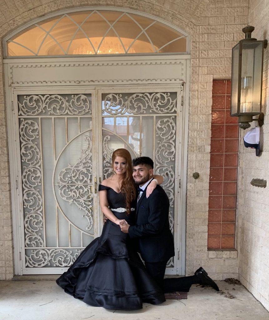 redhead-prom-blackdress-black-formal-fancy